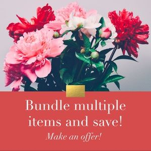 Make an offer on your bundle and save!